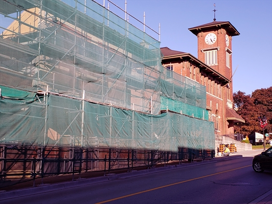 UPDATE: Newmarket Mayor 'infuriated' over demolished Main Street building beside clock tower